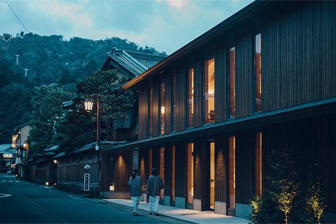 城崎温泉に「さんぽう西村屋 本店」がグランドオープンいたしました。の写真