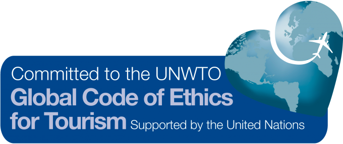 西村屋が世界観光倫理憲章に認定されました。の写真